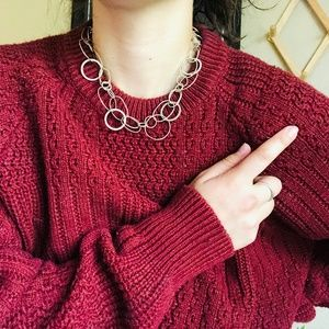 ⌈Boutique⌋ Silver Link Chain Necklace